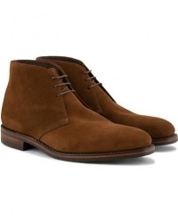Loake 1880 Pimlico Chukka Boot Brown Suede men UK11 - EU45 Brun
