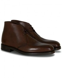 Loake 1880 Pimlico Chukka Boot Dark Brown Calf men UK5 - EU39 Brun