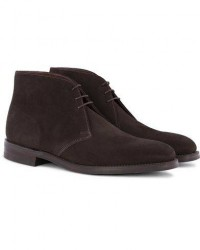 Loake 1880 Pimlico Chukka Boot Dark Brown Suede men UK9,5 - EU43,5 Brun