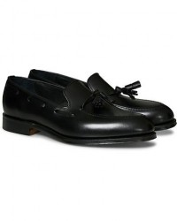 Loake 1880 Russell Tassel Loafer Black Calf men UK7 - EU41 Sort