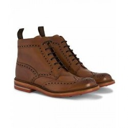 Loake 1880 Wharfdale Boot Brown Burnished Calf