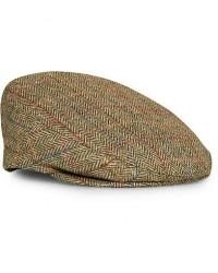 Lock & Co Hatters Glen Checked Wool Cap Green men 61 Grøn