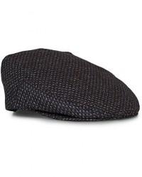 Lock & Co Hatters Glen Gooseeye Wool/Cashmere Cap Brown men 57 Brun