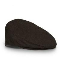 Lock & Co Hatters Glen Loden Wool/Alpaca Cap Brown men 61 Brun