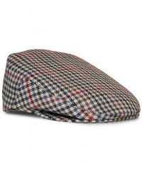 Lock & Co Hatters Reverb Checked Wool Cap Brown/Blue men 58 Flerfarvet