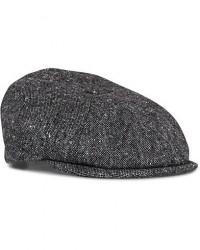 Lock & Co Hatters Reverb Donegal Newsboy Cap Grey men 61 Grå