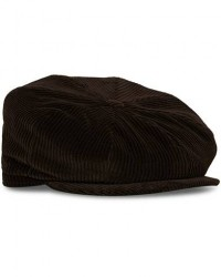 Lock & Co Hatters Tremelo Corduroy Cap Brown men 58 Brun