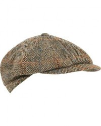 Lock & Co Hatters Tremelo Newsboy Cap Beige/Brown men 57