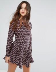 Louche Billie Printed Dress - Multi