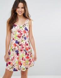 Louche Garnet Floral Dress - Pink