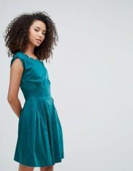 Louche Julita Scallop Dress - Green
