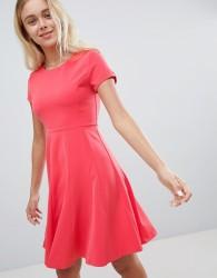 Louche Skater Dress - Pink