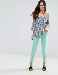 Louche Zac Pintuck Trousers - Green