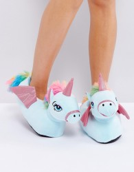 Loungeable Flying Unicorn Slipper - Multi