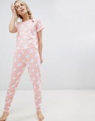 Loungeable Pyjama Llama Long Set - Multi