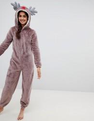 Loungeable reindeer onesie - Purple