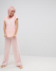 Loungeable Sleeping Princess Pyjama Set - Pink