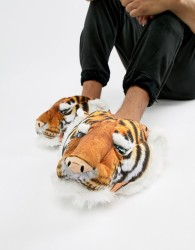 Loungeable tiger slippers - Orange