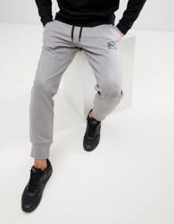 Love Moschino Skinny Joggers In Grey With Logo - Grey