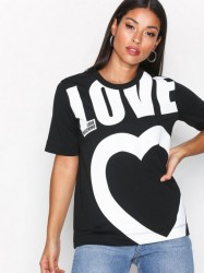 Love Moschino W4F1551M3517 T-shirt Black/White