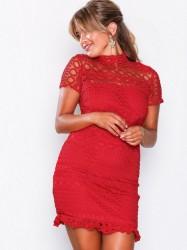 Love Triangle Double Dolce Mini Dress Kropsnære kjoler Red