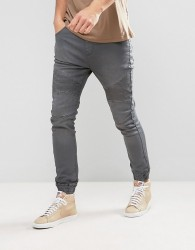 Loyalty and Faith Garrett Jogger Jeans in Grey - Grey