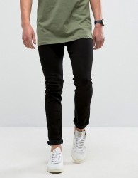 Loyalty and Faith Manor Skinny Fit Jeans in Black - Black