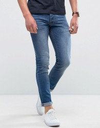 Loyalty and Faith Manor Skinny Fit Jeans in Mid Wash - Blue