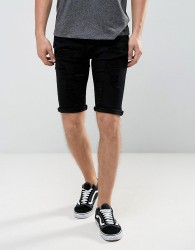 Loyalty and Faith Oldham Ripped Denim Shorts - Black