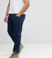 Loyalty and Faith PLUS Regular Fit Jeans in Darkwash Blue - Blue