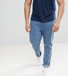 Loyalty and Faith PLUS Regular Fit Jeans in Stonewash Blue - Blue