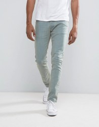 Loyalty and Faith Stretch Skinny Jean in Bleach Wash - Blue