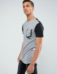 Loyalty and Faith Tape Pocket T-Shirt - Grey