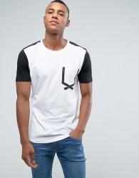 Loyalty and Faith Tape Pocket T-Shirt - White