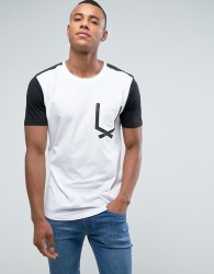 Loyalty and Faith Tape Pocket T-Shirt - White