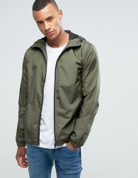 Loyalty and Faith Zip Thru Hooded Jacket - Green