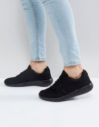 Loyalty & Faith Diver Trainers In Black - Black