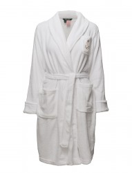 Lrl Gilded Age Collar Soft Robe Solid