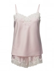 Lrl Signature Lace Cami Top Set