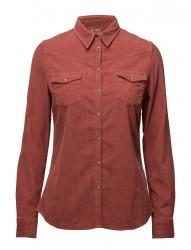 L/S Corduroy Shirt Canyon Rose