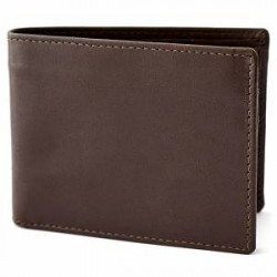 Lucleon Brown RFID Small Wallet