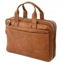 Lucleon California Lædertaske til Bærbar