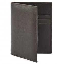 Lucleon Luigi RFID-Blokerende Mørkebrun Læderkortholder