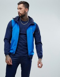 Luke Sport Ainslie Hooded Track Jacket In Blue Mix - Blue