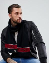 Luke Sport Barclay Scarf In Black - Black