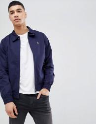 Luke Sport Brownhills Mafia Harrington Jacket In Navy - Navy