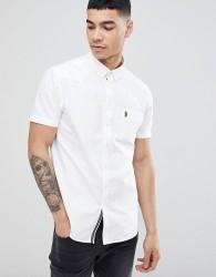 Luke Sport Cuffys Call Shirt in White - White