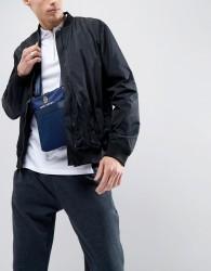 Luke Sport Fletcher Nylon Mesh Flight Bag In Navy - Navy
