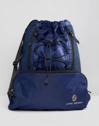 Luke Sport Flynn Drawstring Backpack In Navy - Navy