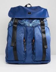 Luke Sport Keegan Double Pocket Backpack In Navy - Navy